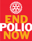 END POLIO NOW - Rotary Club Roma Colosseo